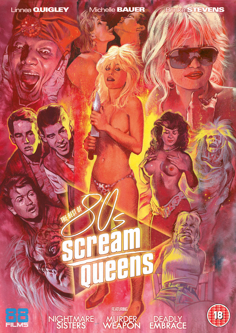 The Best of 80's Scream Queens (DVD)