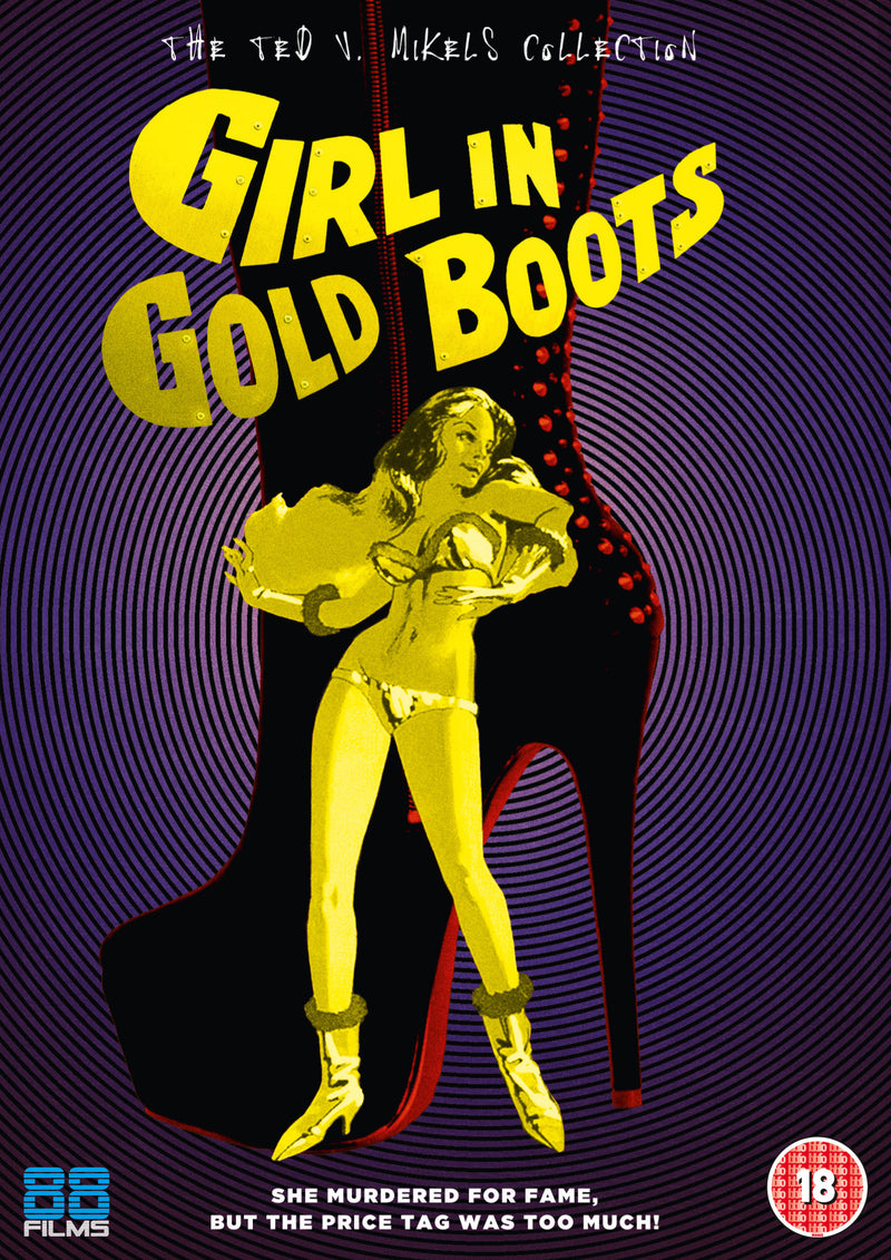 Girl in Gold Boots (DVD)