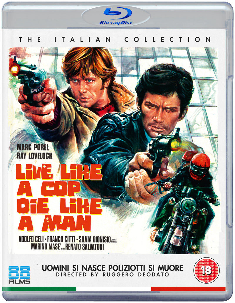 Live Like a Cop, Die Like a Man (Blu-ray) - The Italian Collection 11
