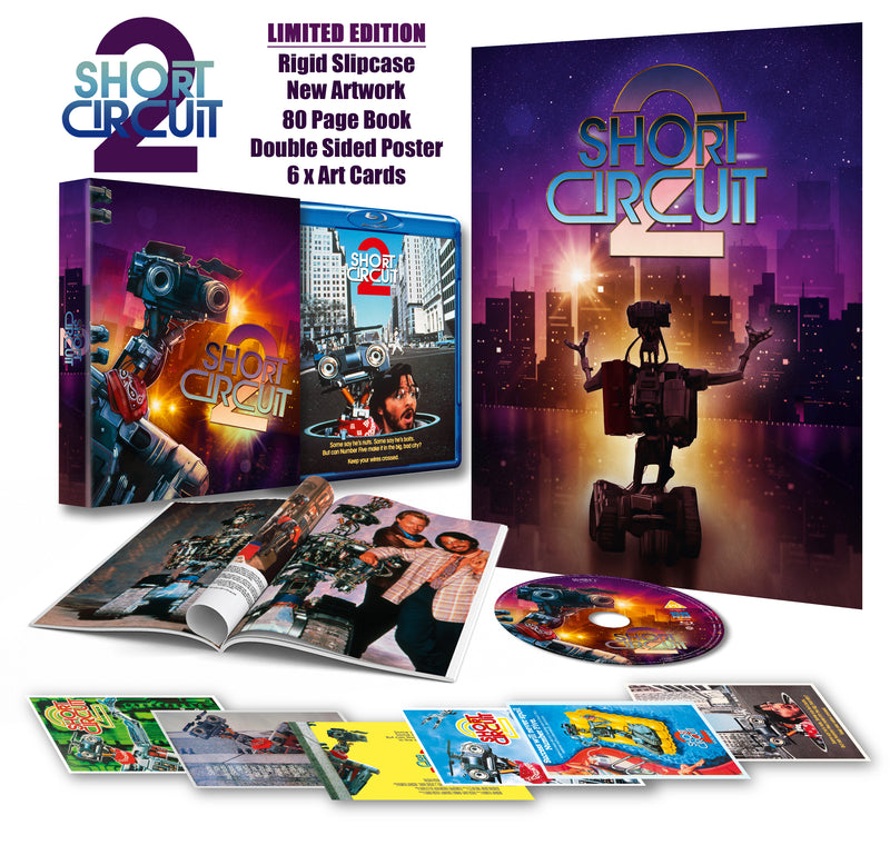 Short Circuit 2 - DELUXE COLLECTOR'S EDITION