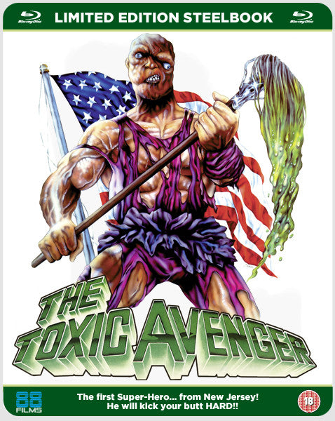 The Toxic Avenger (Steelbook) (Blu-ray)