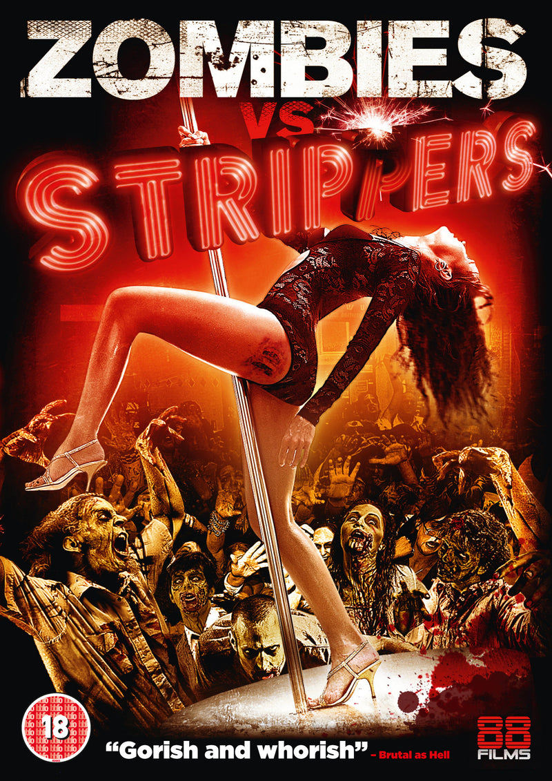 Zombies vs striper nude, girls engaging in sex