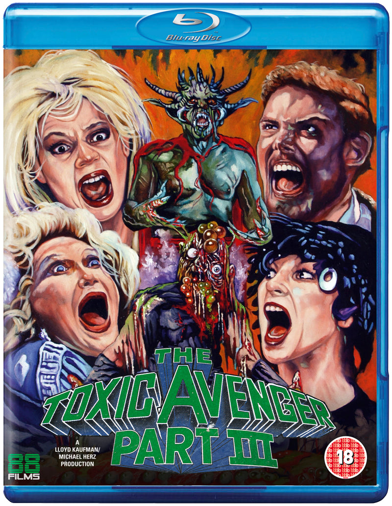 The Toxic Avenger Part 3: The Last Temptation of Toxie (Blu-ray)