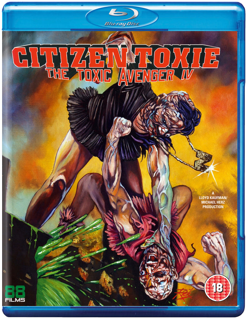 Citizen Toxie: The Toxic Avenger Part 4 (Blu-ray)