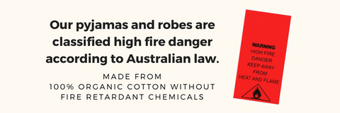 Not treated with fire retardant chemicals