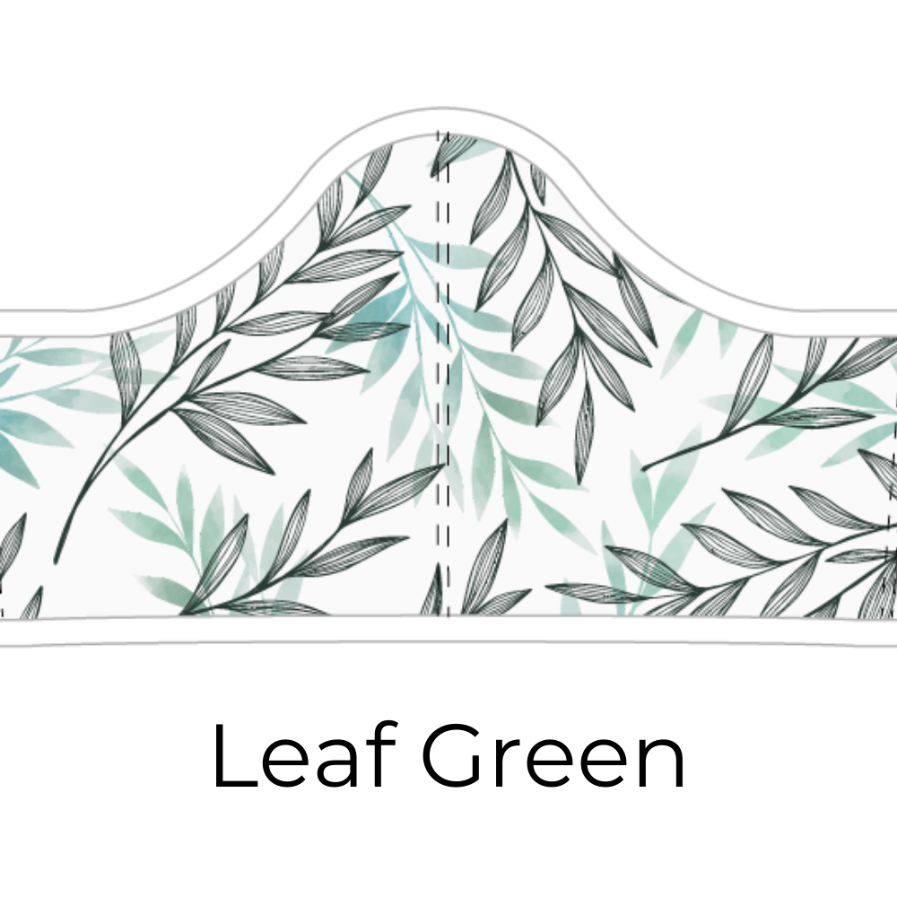 Adult & Youth Sizes - Leaf Green Design + 5 Carbon Filters