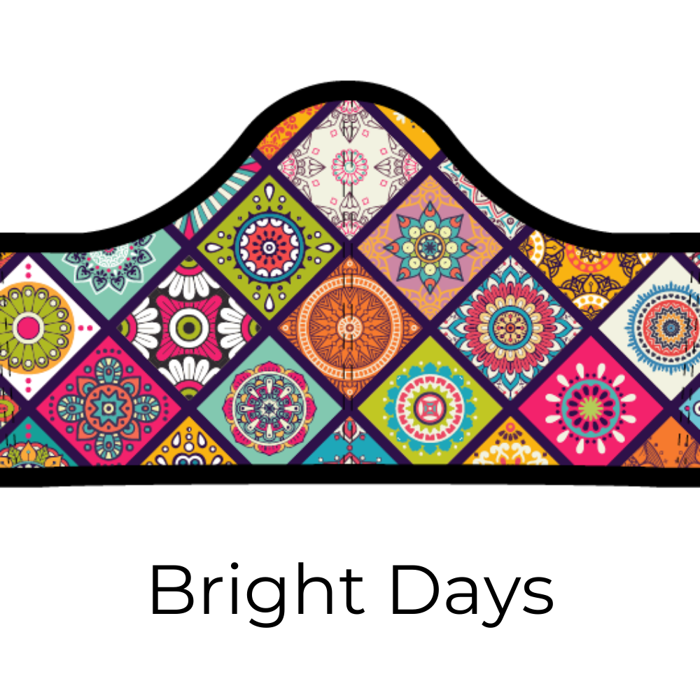 Adult & Youth Sizes - Bright Days Design + 5 Carbon Filters