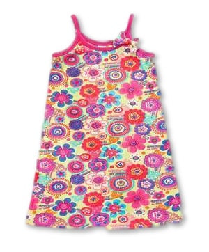 Nightdress for girls Zany Nina Print