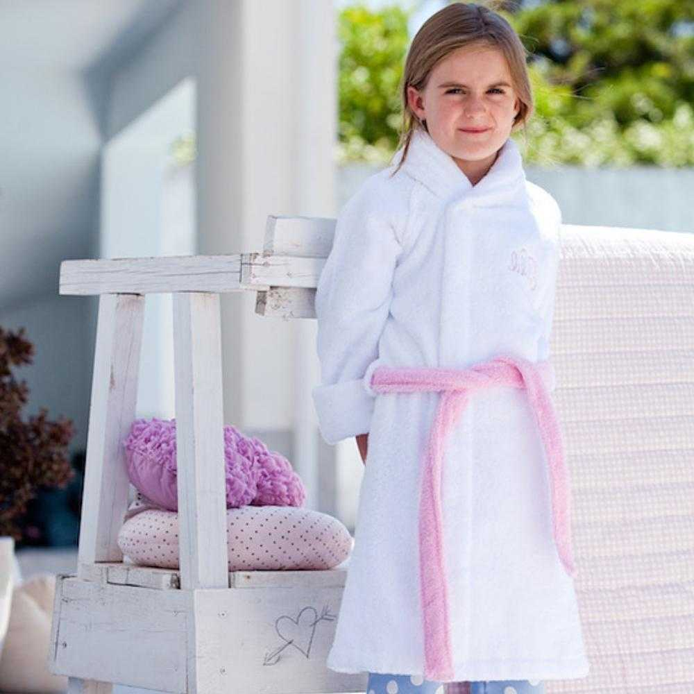 Organic Cotton Girls Bathrobes - Lilala KIDS