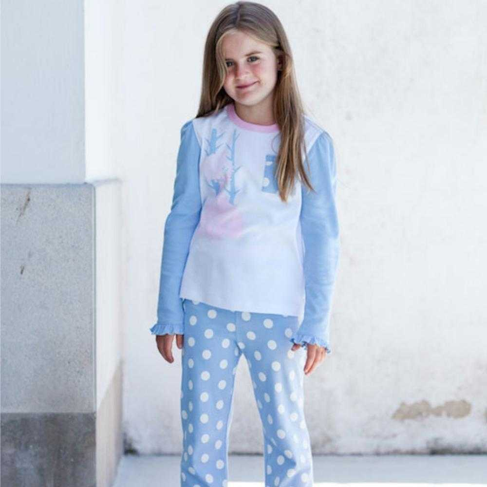 Organic Peruvian Pima Cotton Pajamas: Princess Design - Lilala KIDS