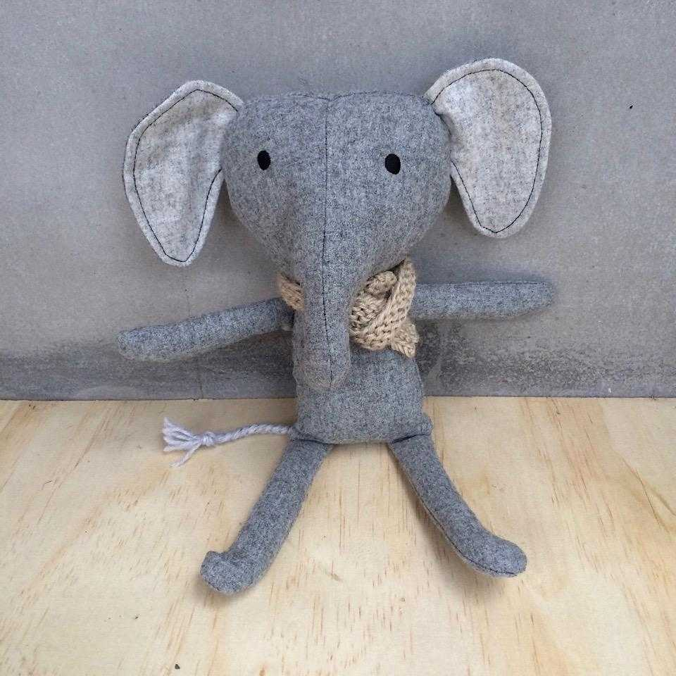 Soft Cuddly Elephant Toy - Lilala KIDS