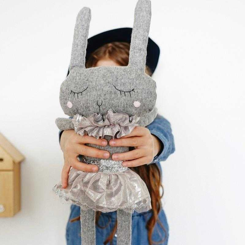 Lola The Rabbit - Soft Wool Blend Toy | Lilala KIDS
