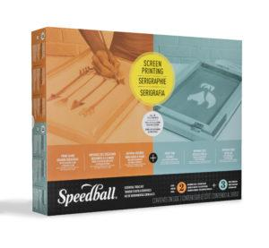 Speedball Fabric Screen Printing Tool Kit Starter Pack