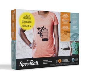 Speedball Intermediate Fabric Screen Printing Kit