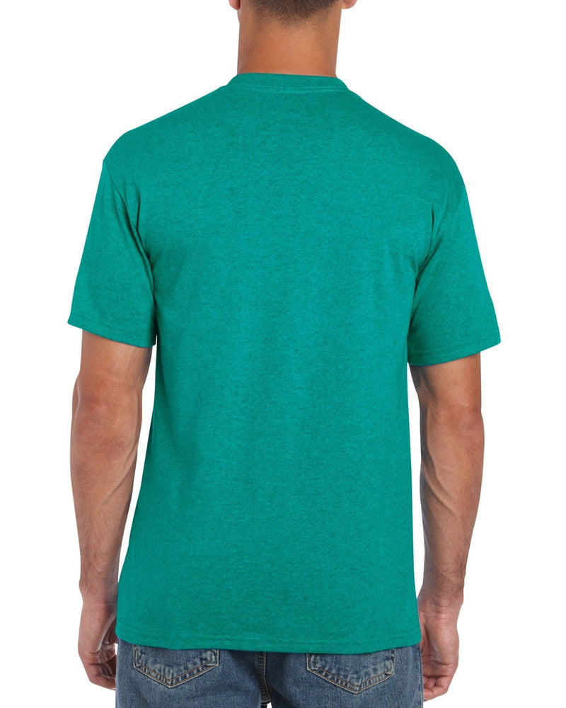 Gildan Heavy Cotton T Shirt - Jade Brand NEW - Hunt The Moon - Screen Printing Supplies Shop
