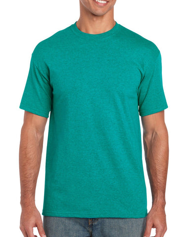 Gildan Heavy Cotton T Shirt - Jade Brand NEW
