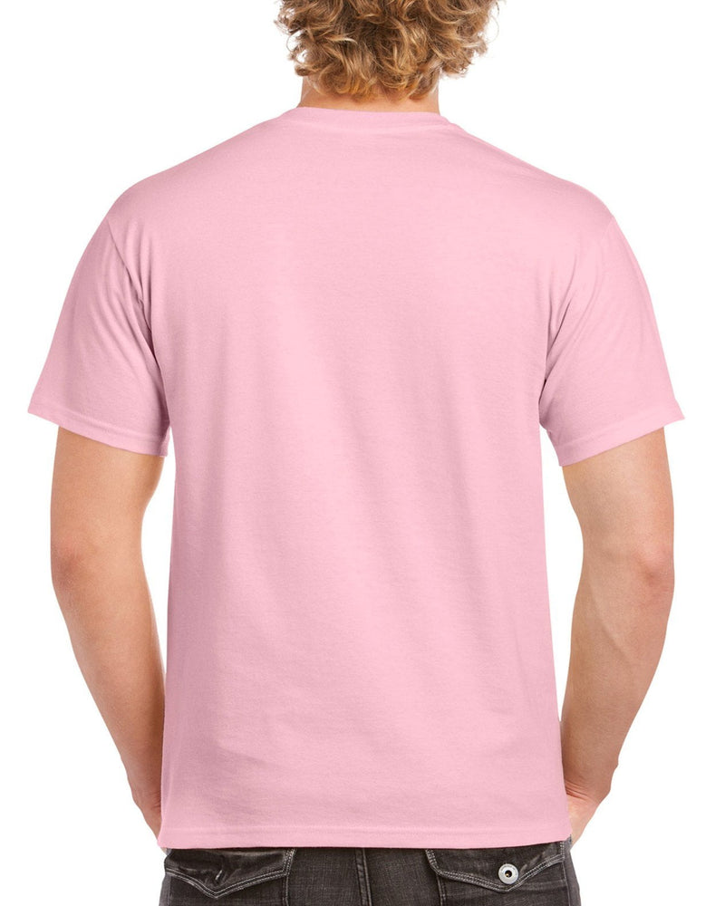 Gildan PASTEL Heavy Cotton T Shirt - Pastel Pink Brand NEW - Hunt The Moon - Screen Printing Supplies Shop