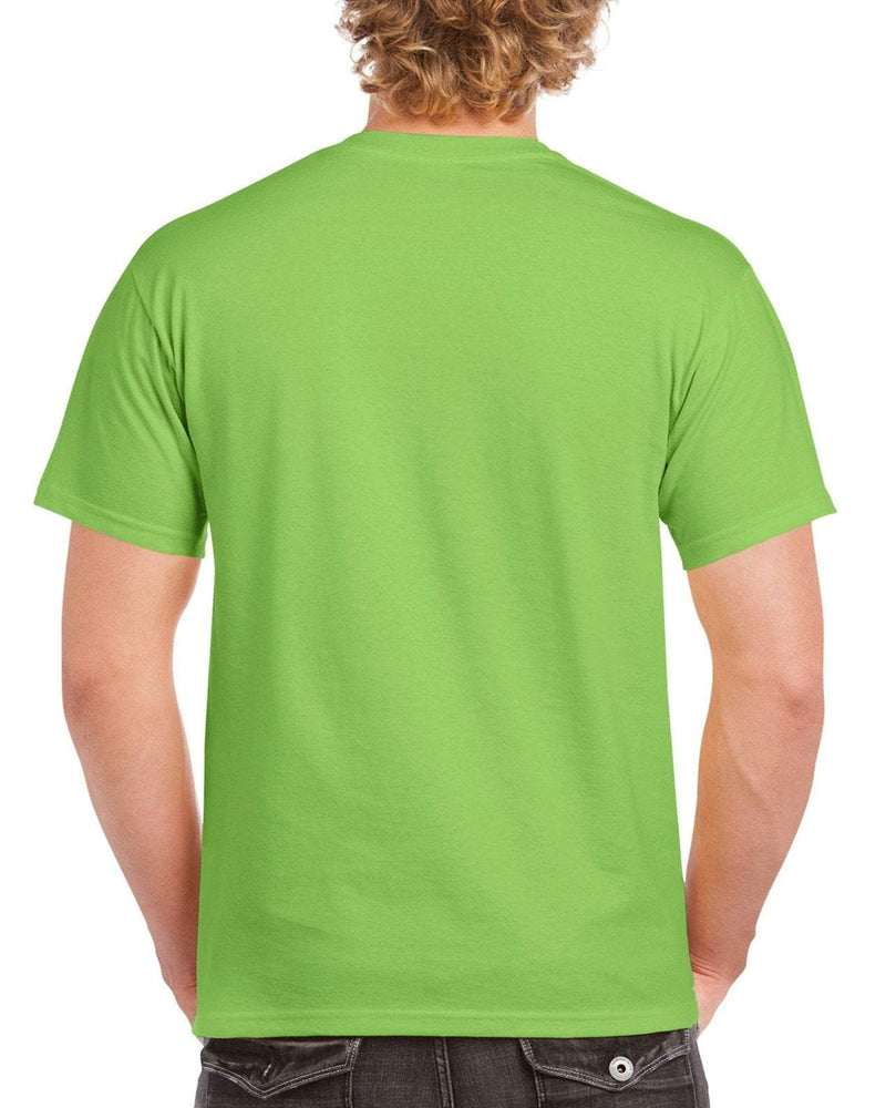 Gildan Heavy Cotton T Shirt - Lime Green Brand NEW - Hunt The Moon - Screen Printing Supplies Shop