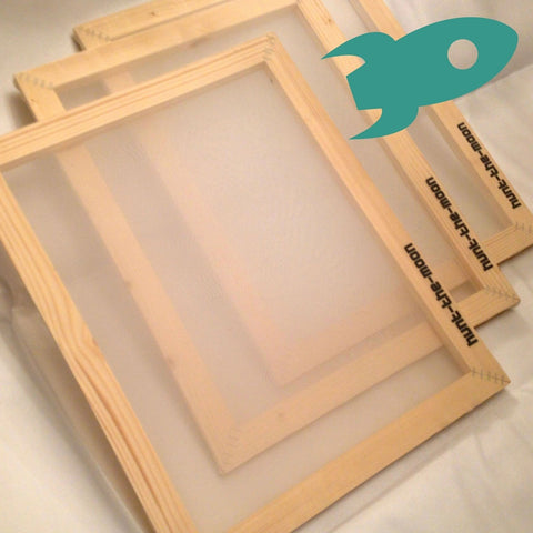10 x A3 43T Mega Frame Deal - Hunt The Moon - Screen Printing Supplies Shop
