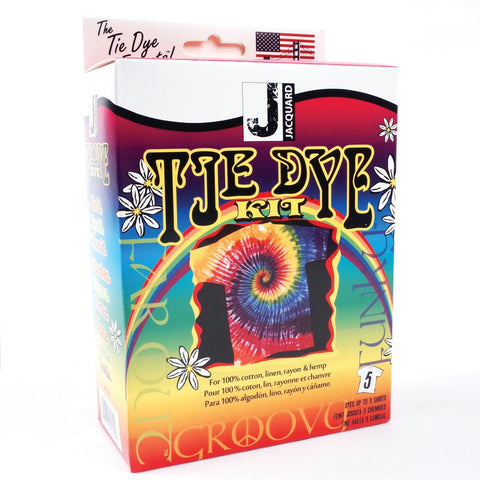 Jacquard - Funky Groovy - Tie Dye Kit - Hunt The Moon - Screen Printing Supplies Shop