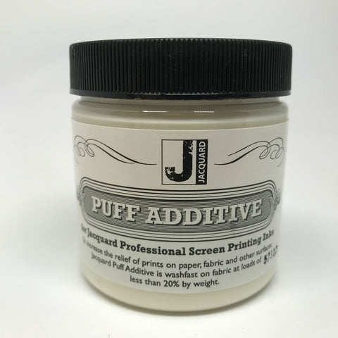 Jacquard Puff Additive - Make those designs stand out!