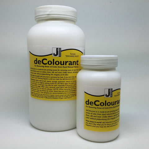 Jacquard - Discharge Paste - deColourant - Choose Size - Hunt The Moon - Screen Printing Supplies Shop