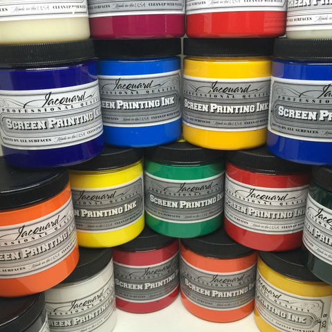 Jacquard Professional Screen Printing Ink - Waterbased Multi Surface Textile Ink