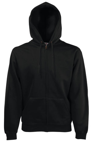 Fruit of the loom - Classic Sweat Hoody - Black SMALL ONLY