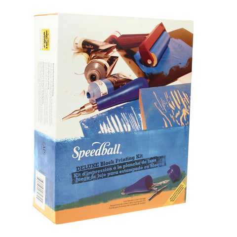 Speedball Block Printing Deluxe Starter Kit - Speedball- Screen Printing