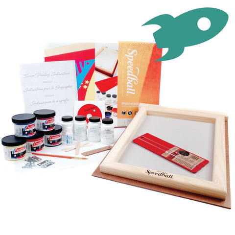 Speedball - Deluxe Screen Printing Kit - Speedball- Screen Printing