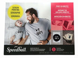 Speedball Beginner Paper Stencil Screen Printing Kit