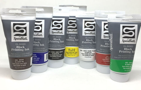 Speedball Oil Based Block Printing Ink