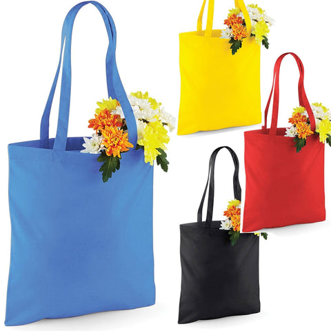 Westford Mill - Long Handle Shopping Bag For Life - Choose Colour