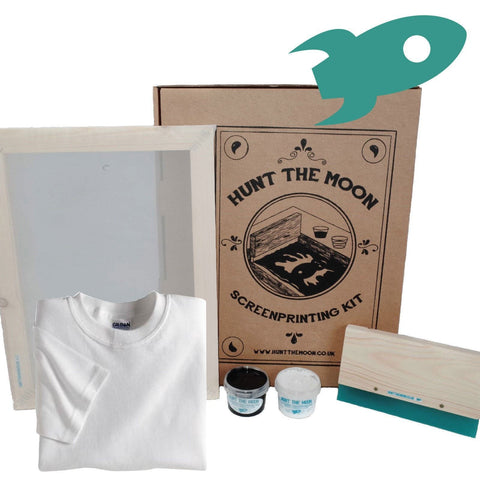 Deluxe Gildan Softstyle T-Shirt Screen Printing Kit A4 43T