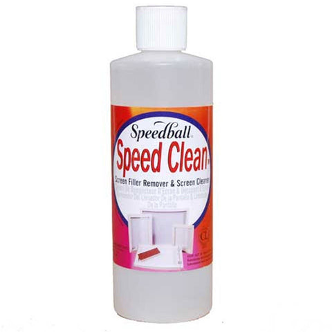 Speedball Speed Clean Screen Filler Remover Screen Cleaner - Hunt The Moon - Screen Printing Supplies Shop