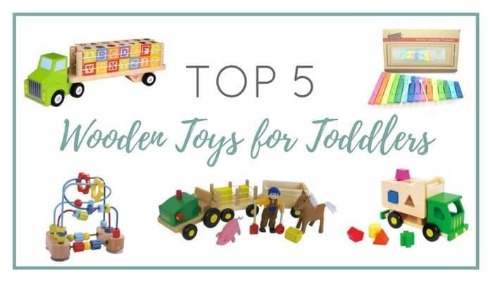 Top 5 Wooden Toys for Toddlers Christmas 2017