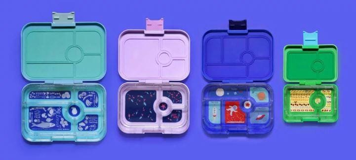 Back to Kindy/School with Yumbox Lunchboxes:  Your guide to choosing the right size.