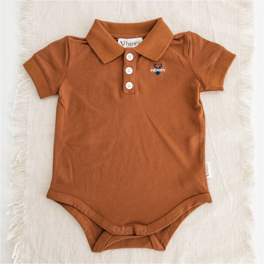 Baby Boys Polo Rompers - Love Henry