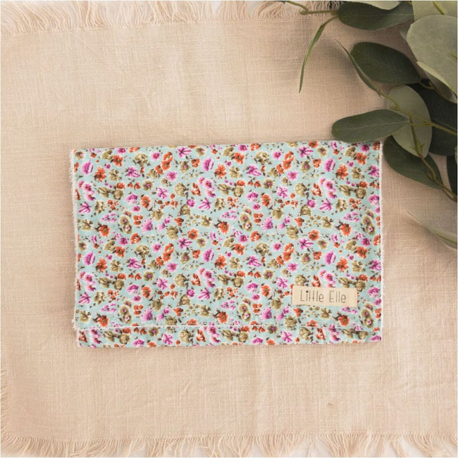 Baby Girls Burp Cloths - Little Elle