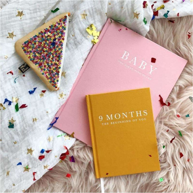 ,Baby Journal - The First Five Years PINK,Elle J
