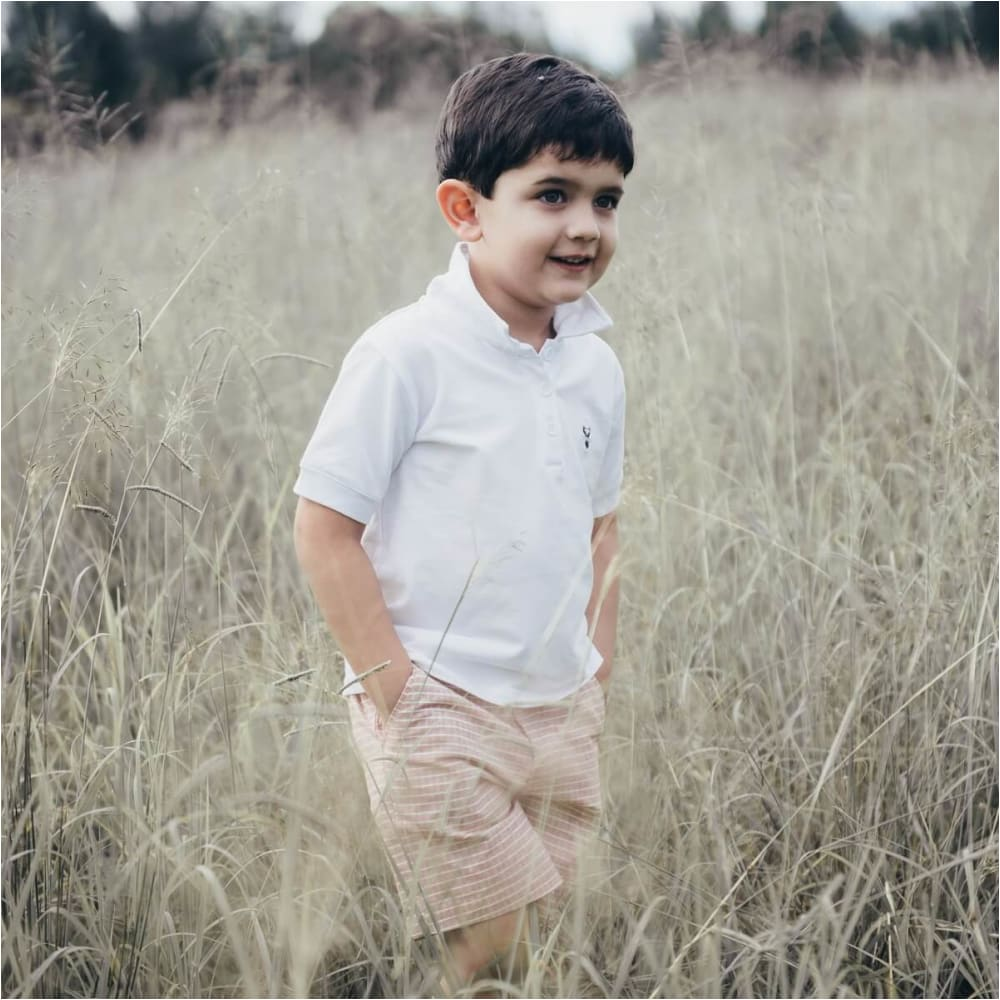 Boys Polo Shirt - Love Henry