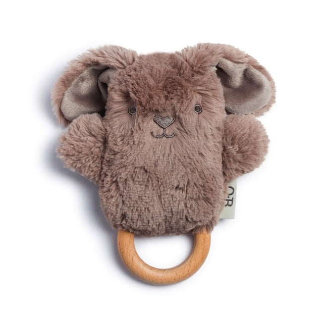 OB Designs,Wooden Teether and Rattle | BYRON BUNNY,Elle J