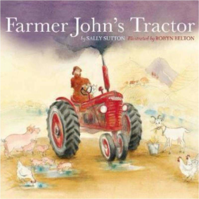 Farmer John's Tractor - Brumby Sunstate Books