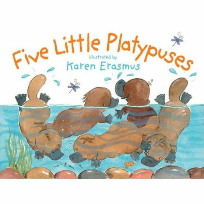 ,Five Little Platypuses,Elle J