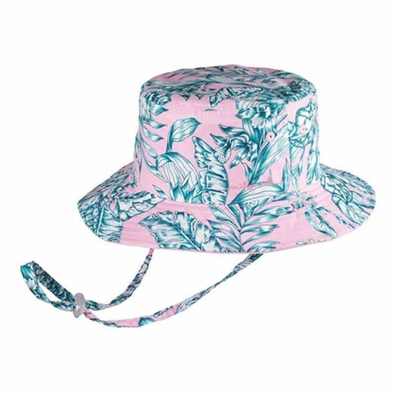 Girls Bucket Hat - Oasis Pink - Millymook