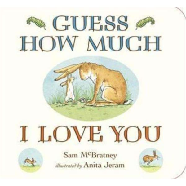 Brumby Sunstate Books,Guess How Much I Love You Board Book,Elle J