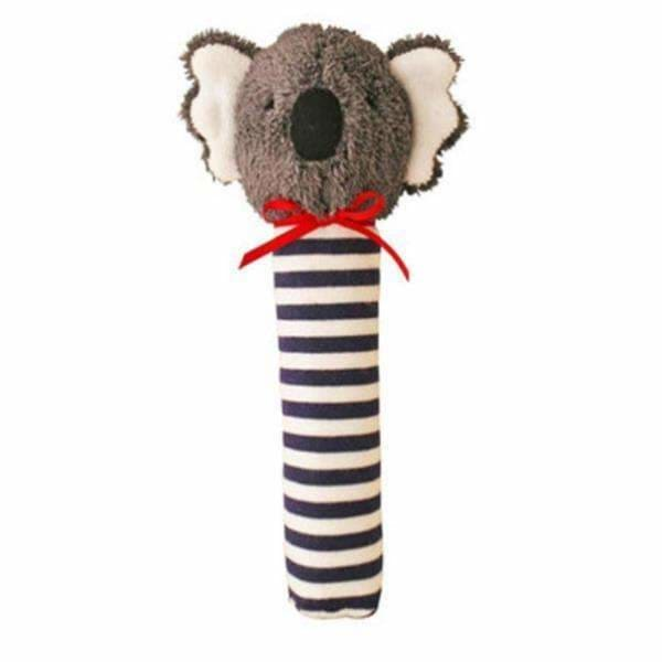 Koala Squeaker in Navy Stripe - Alimrose Designs