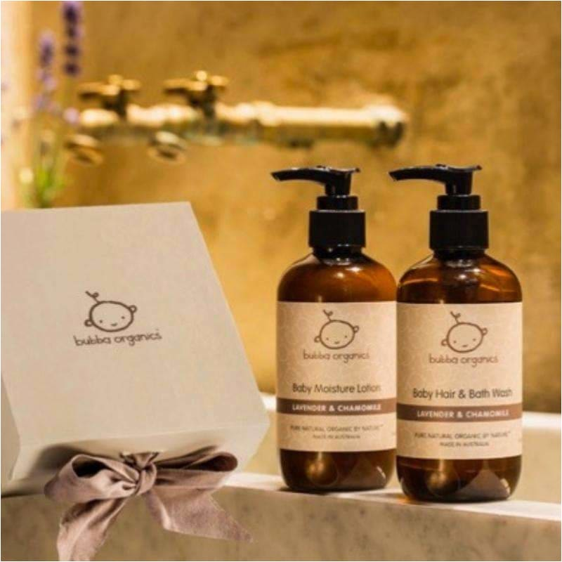 Lavender and Chamomile Baby Bath and Body Gift Box - Bubba