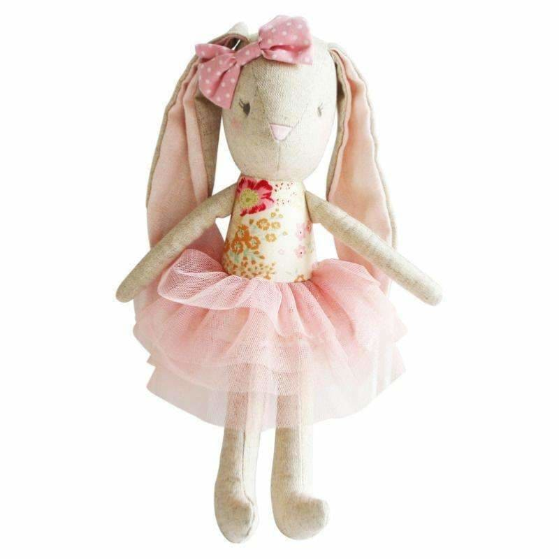 Linen Baby Pearl Toy Blush - Alimrose Designs