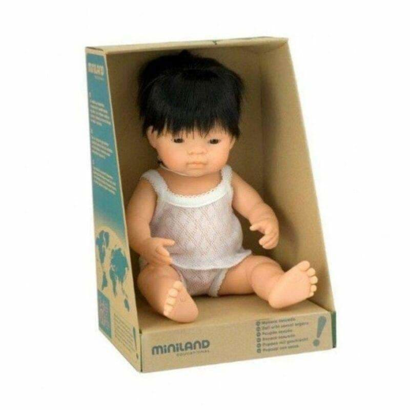 Miniland Dolls - Asian Boy Dolls - Miniland
